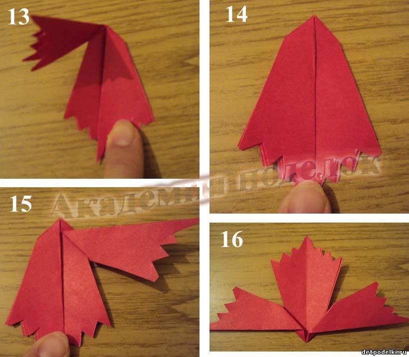 Новогодние поделки для детей: Елка из бумаги Поделки 3